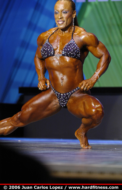 Rosemary Jennings - finals - 2006 Arnold Classic - Figure
