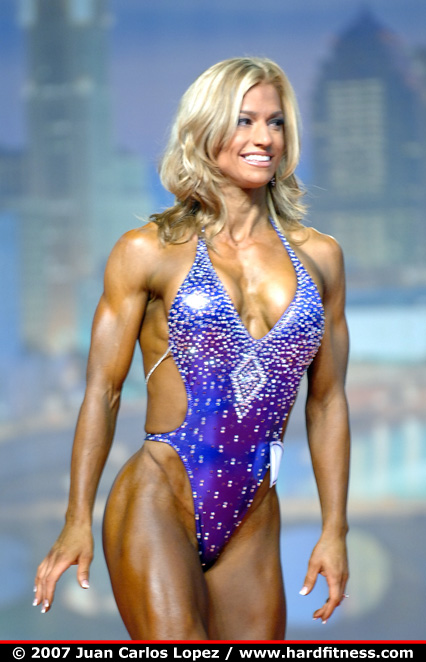 Julie Childs Onepiece 2007 Arnold Classic And Npc Arnold Amateur