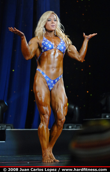 Kristy Hawkins - finals - 2008 Arnold Classic and Arnold