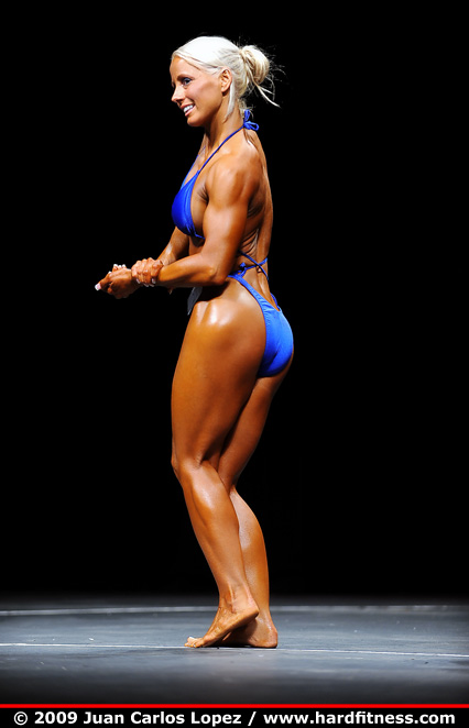 Amy Dotson - prejudging - 2009 Contra Costa Championships