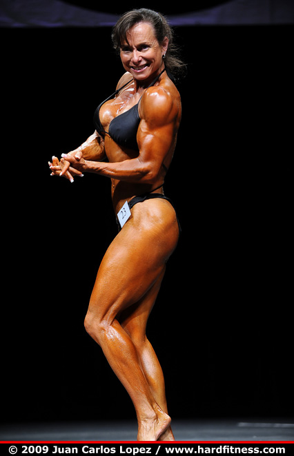 Holly Robey - prejudging - 2009 Contra Costa Championships
