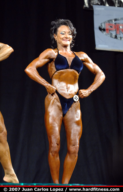 Denise Rathwick - prejudging - 2007 Emerald Cup Figure, Fitness and