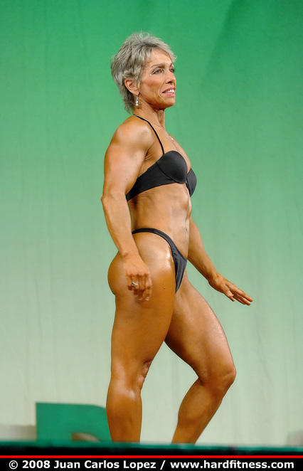 Ann Gannon - finals - 2008 Emerald Cup Figure, Fitness and