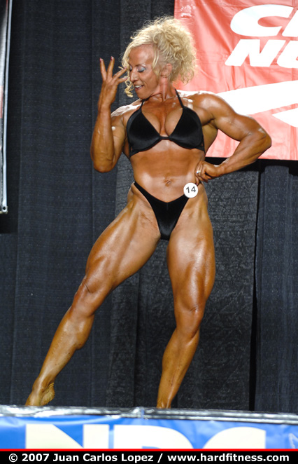 yvonne edmunds   prejudging   2007 npc jr nationals