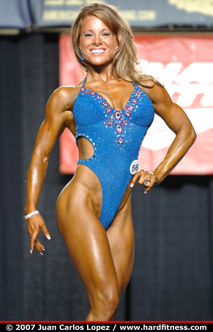 Courtney Gahm Onepiece 2007 NPC Jr Nationals