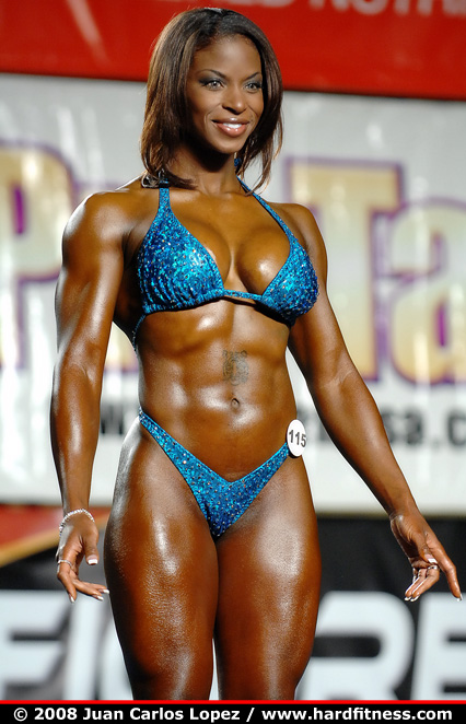 Fbb with big tits and pecs flexes - 1 2