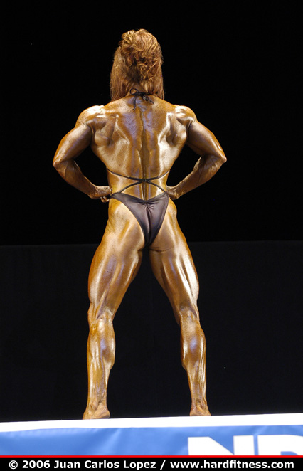 Pam Franklin - prejudging - 2006 NPC National Bodybuilding
