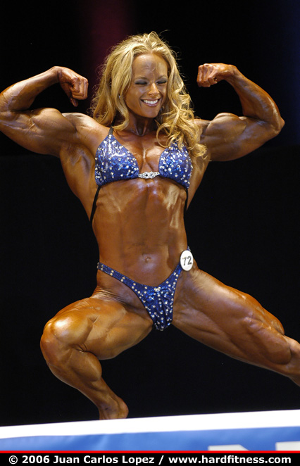 Kristy Hawkins - finals - 2006 NPC National Bodybuilding