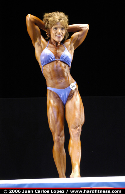 Pam Shealy - prejudging - 2006 NPC National Bodybuilding
