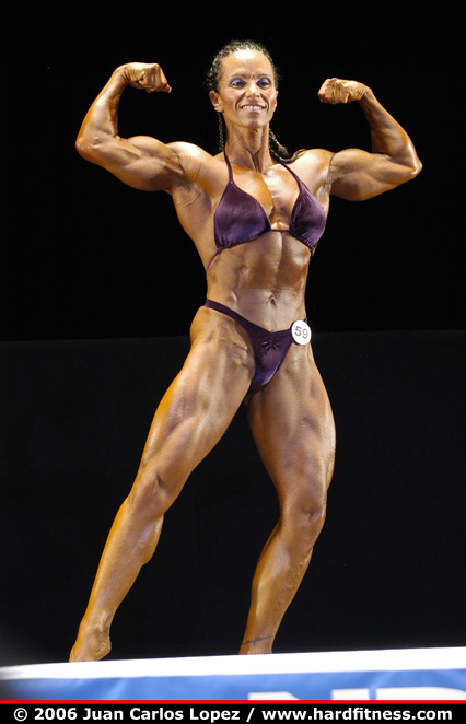 Denise Fischer - prejudging - 2006 NPC National