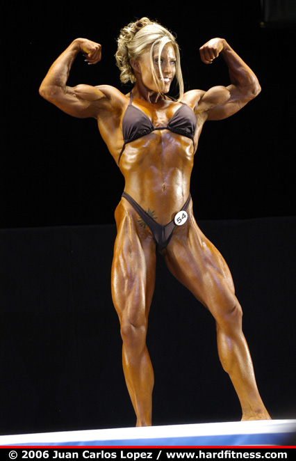 Lisa Bickels - prejudging - 2006 NPC National Bodybuilding