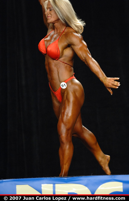 prejudging - 2007 NPC National Bodybuilding and Fitness Championships