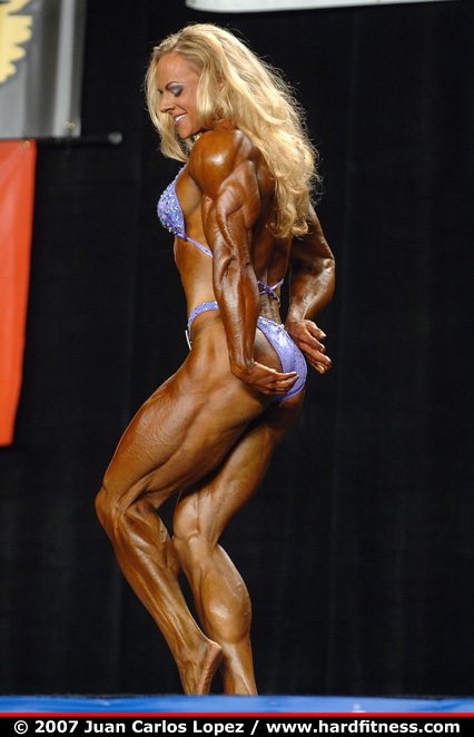 Kristy Hawkins - finals - 2007 NPC National Bodybuilding