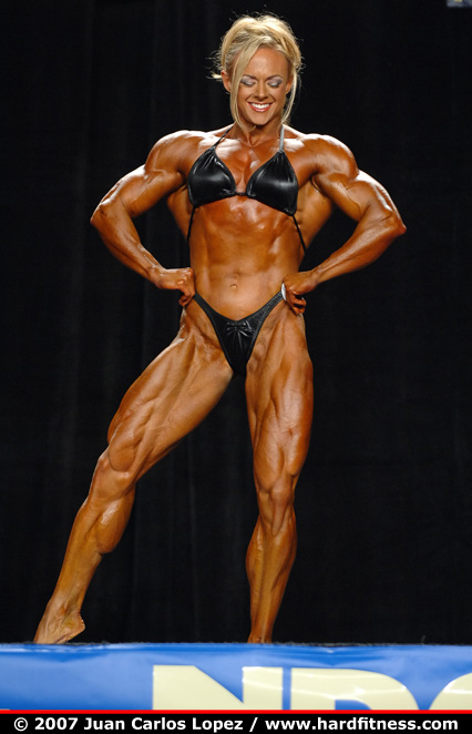 Kristy Hawkins Prejudging 2007 Npc National