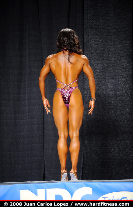 Tina Davis - onepiece - 2008 NPC National Bodybuilding and