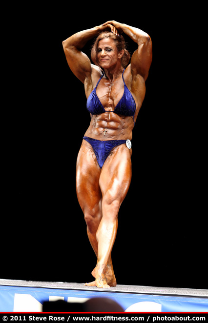 Christina Rhodes - prejudging - 2011 NPC Nationals