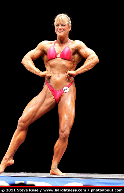 Emilie Wicker - prejudging - 2011 NPC Nationals
