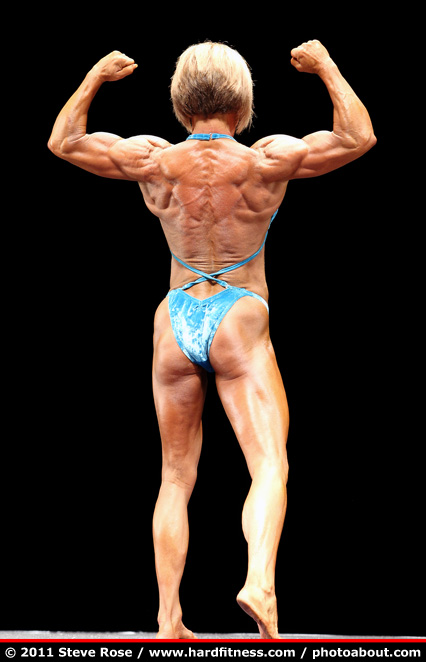 Linda Jernigan - prejudging - 2011 NPC Nationals