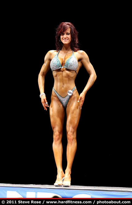 Jennifer Martin - twopiece - 2011 NPC Nationals