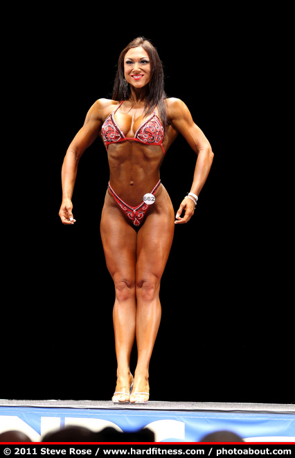 Melissa Merritt - twopiece - 2011 NPC Nationals