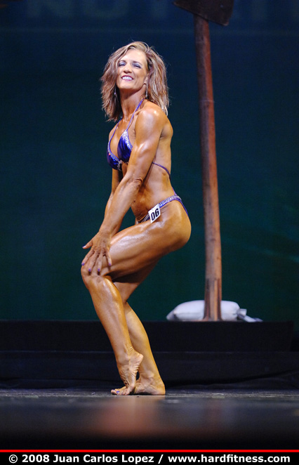 Mary Connell - finals - 2008 NPC Natural Western USA