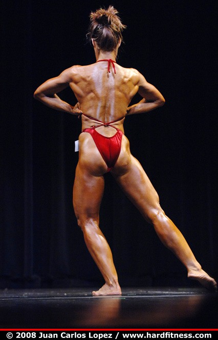 Mary Connell - prejudging - 2008 NPC Natural Western USA Championships