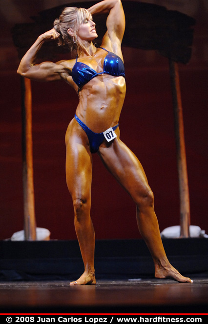 Paula Beevers - finals - 2008 NPC Natural Western USA