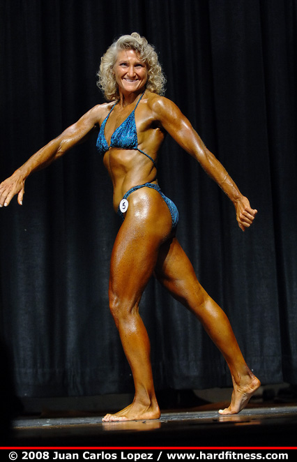 Therese Bissonette - finals - 2008 NPC New Jersey State