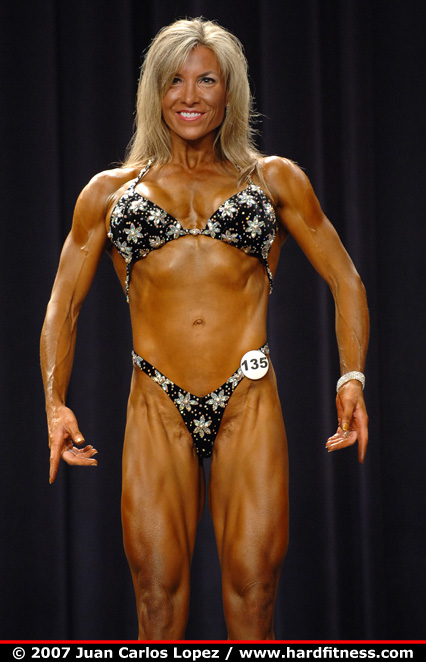 Jennifer Myers - twopiece - 2007 IFBB North American Championships Americans