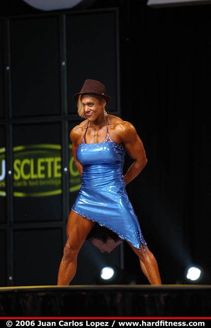 Colette nelson finals 2006 olympia fitness figure and ms olympia