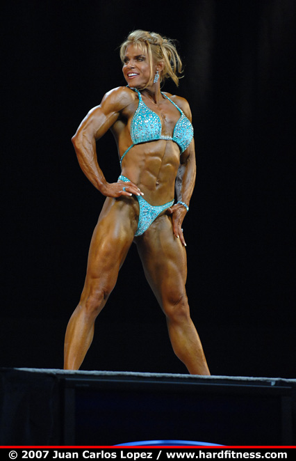 Stephanie Kessler - finals - 2007 Olympia Fitness, Figure