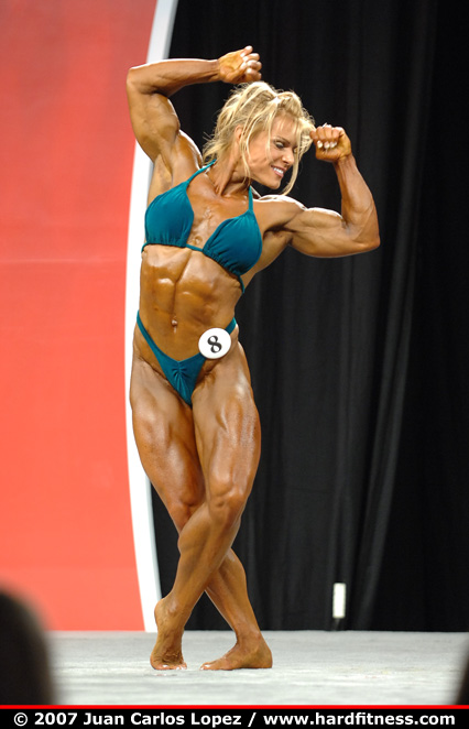 Stephanie Kessler - prejudging - 2007 Olympia Fitness, Figure and Ms