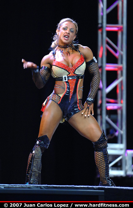 Rosi mena routine 2007 olympia fitness figure and ms olympia