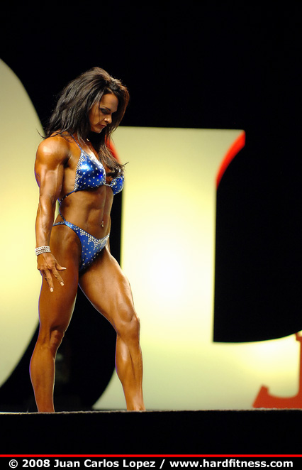Nicole Ball - finals - 2008 IFBB Figure, Fitness and Ms
