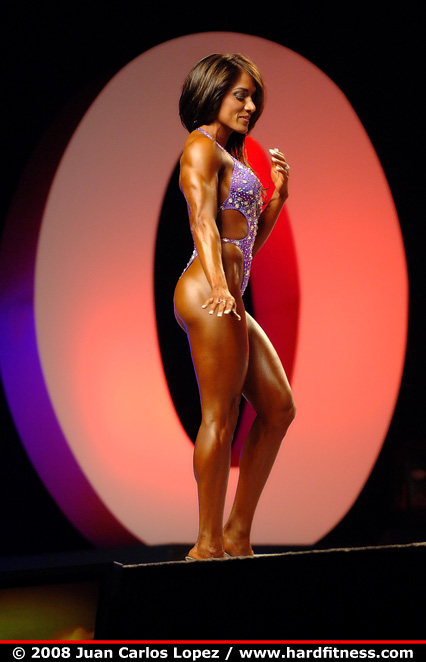 Galvan onepiece 2008 ifbb figure fitness and ms olympia