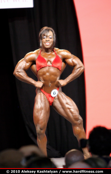 Heather Foster - prejudging - 2010 Olympia