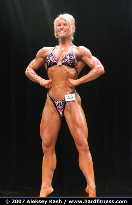 Tracy Beckham - finals - 2007 Team Universe and NYC Pro Figure