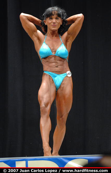 Sally Taylor - prejudging - 2007 USAs Figure and Bodybuilding ...